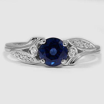 sapphhire engagement ring