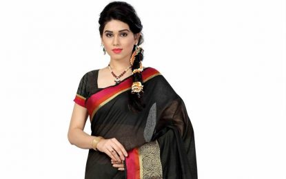 Designer sarees to look perfect