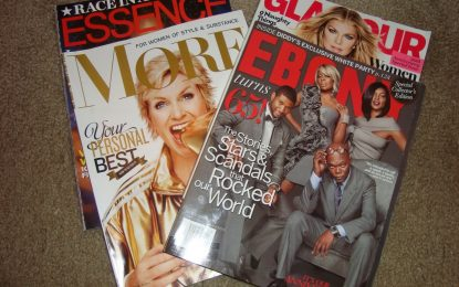 Read magazines to stay updated for the photo shoot